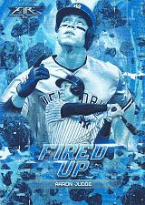 Buy 2018 Topps Fire Fired Up #F10 - Aaron Judge - Yankees