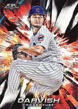 Buy 2018 Topps Fire #87 - Yu Darvish - Cubs