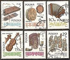 Buy [PO2603] Poland: Sc. no. 2603-2608 (1984) CTO Complete Set