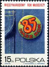 Buy [PO2672] Poland: Sc. no. 2672 (1985) MNH Single