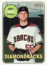 Buy 2018 Topps Heritage #615 - Matt Koch - Diamondbacks