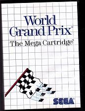Buy World Grand Prix - Sega Master System 1986 Video Game - Very Good