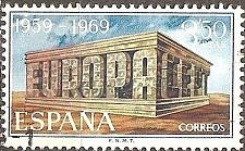Buy Spain: Sc. no. 1567 (1969) Used Single