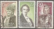 Buy Spain: Sc. no. 1698-1700 (1972) Used Complete Set