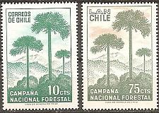 Buy [CL0363] Chile: Sc. no. 363, C274 (1967) MNH Complete Set
