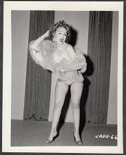 Buy INFAMOUS STRIPPER JADA CONFORTO IRVING KLAW VINTAGE ORIGINAL PHOTO 4X5 1950'S #66