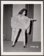 Buy INFAMOUS STRIPPER JADA CONFORTO IRVING KLAW VINTAGE ORIGINAL PHOTO 4X5 1950'S #65