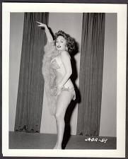 Buy INFAMOUS STRIPPER JADA CONFORTO IRVING KLAW VINTAGE ORIGINAL PHOTO 4X5 1950'S #59