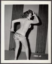 Buy INFAMOUS STRIPPER JADA CONFORTO IRVING KLAW VINTAGE ORIGINAL PHOTO 4X5 1950'S #57