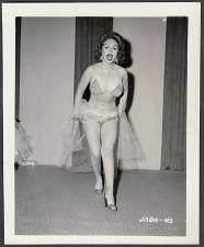 Buy INFAMOUS STRIPPER JADA CONFORTO IRVING KLAW VINTAGE ORIGINAL PHOTO 4X5 1950'S #43