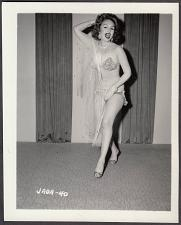 Buy INFAMOUS STRIPPER JADA CONFORTO IRVING KLAW VINTAGE ORIGINAL PHOTO 4X5 1950'S #40