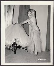 Buy INFAMOUS STRIPPER JADA CONFORTO IRVING KLAW VINTAGE ORIGINAL PHOTO 4X5 1950'S #38