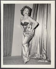 Buy INFAMOUS STRIPPER JADA CONFORTO IRVING KLAW VINTAGE ORIGINAL PHOTO 4X5 1950'S #32