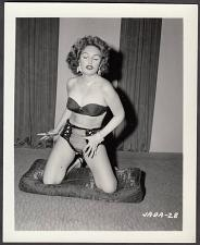 Buy INFAMOUS STRIPPER JADA CONFORTO IRVING KLAW VINTAGE ORIGINAL PHOTO 4X5 1950'S #28