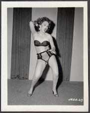 Buy INFAMOUS STRIPPER JADA CONFORTO IRVING KLAW VINTAGE ORIGINAL PHOTO 4X5 1950'S #27