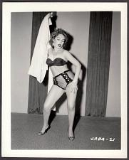 Buy INFAMOUS STRIPPER JADA CONFORTO IRVING KLAW VINTAGE ORIGINAL PHOTO 4X5 1950'S #21