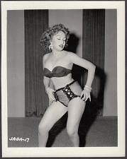 Buy INFAMOUS STRIPPER JADA CONFORTO IRVING KLAW VINTAGE ORIGINAL PHOTO 4X5 1950'S #17