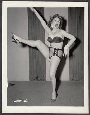 Buy INFAMOUS STRIPPER JADA CONFORTO IRVING KLAW VINTAGE ORIGINAL PHOTO 4X5 1950'S #16