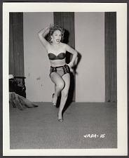 Buy INFAMOUS STRIPPER JADA CONFORTO IRVING KLAW VINTAGE ORIGINAL PHOTO 4X5 1950'S #15