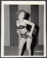 Buy INFAMOUS STRIPPER JADA CONFORTO IRVING KLAW VINTAGE ORIGINAL PHOTO 4X5 1950'S #14