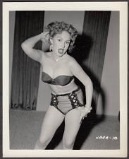 Buy INFAMOUS STRIPPER JADA CONFORTO IRVING KLAW VINTAGE ORIGINAL PHOTO 4X5 1950'S #10