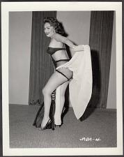 Buy INFAMOUS STRIPPER JADA CONFORTO IRVING KLAW VINTAGE ORIGINAL PHOTO 4X5 1950'S #4