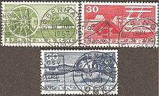 Buy [DE0371] Denmark: Sc. no. 371-373 (1960) Used Complete Set