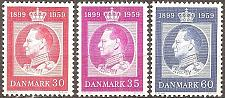Buy [DE0366] Denmark: Sc. no. 366-368 (1959) MNH Complete Set
