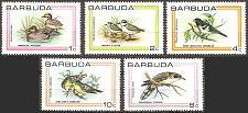 Buy [BU0431] Barbuda: Sc. no. 431-435 (1980) MNH