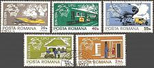 Buy [RO2486] Romania: Sc. no. 2486-2490 (1974) CTO