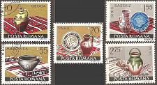 Buy [RO2436] Romania: Sc. no. 2436-2440 (1973) CTO
