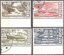 Buy [DEB049] Denmark: Sc. no. B49-B52 (1976) Used Complete Set
