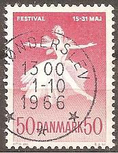 Buy [DE0422] Denmark: Sc. no. 422 (1965) Used Single