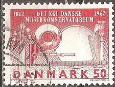 Buy [DE0430] Denmark: Sc. no. 430 (1967) Used Single