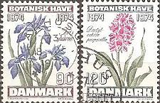 Buy [DE0550] Denmark: Sc. no. 550-551 (1974) Used Complete Set
