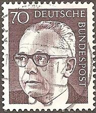 Buy [GE1035] Germany: Sc. No. 1035 (1971) Used