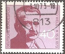 Buy Germany: Sc. No. 1124 (1973) Used Single