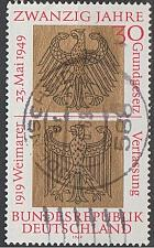 Buy [GE0998] Germany: Sc. No. 998 (1969) Used Single