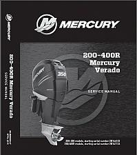 Buy Mercury Verado L6 ( 200 225 250 275 300 350 400R ) Outboard Motors Service Manual CD