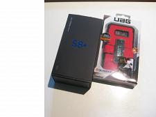 Buy 9/10 Unlocked Smoking Silver 64gb Samsung S8+ Bundle!!