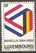 Buy [LU0480] Luxembourg: Sc. no. 480 (1969) MNH Single