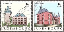 Buy [LU0937] Luxembourg: Sc. no. 937-938 (1995) Used Complete Set