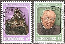 Buy [LU0674] Luxembourg: Sc. no. 674-675 (1982) Used Complete Set