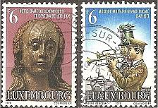 Buy [LU0612] Luxembourg: Sc. no. 612-613 (1978) used complete set
