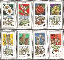 Buy [RW0632] Rwanda: Sc. no. 632-639 (1975) MNH Complete Set