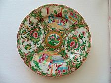 "Buy Late 19 Century Original ""Rose Medallion"" Chinese Porcelain Plate Cantonese Export"