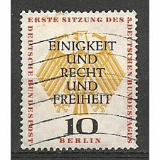 Buy German Berlin Used Scott #9N158 Catalog Value $.65