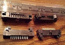 Buy Lot of 16: Samtec EHT-110-01-S-D 2 Row PCB Header