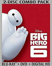 Buy DISNEYS BIG HERO 6... BLU-RAY+DVD+DIGITAL HD