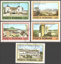 Buy [RO2848] Romania: Sc. no. 2848-2852 (1979) CTO